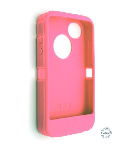 Replacement Silicone Skin For Iphone 4/4S Otterbox Defender Case / Light Pink Sport, Fitness, Training, Health, Exercise Gear, Shape Up front-229375