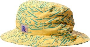 Girl Zig Zag Yellow Green Bucket Hat
