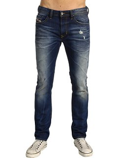 Brand New Diesel Thavar 8NE Mens Jeans, 08NE, Skinny Fit Tapered Leg (40 x 32)