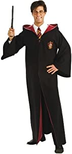 Harry Potter Deluxe Robe - Adult Fancy Dress Costume
