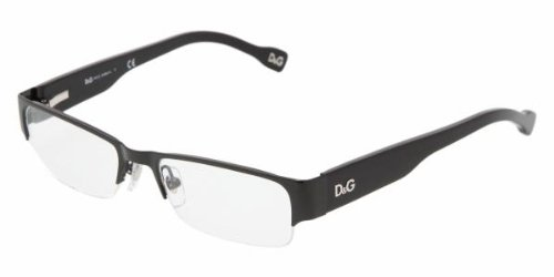 D&G DD5074 64 Eyeglasses Black Demo Lens 50-17-135