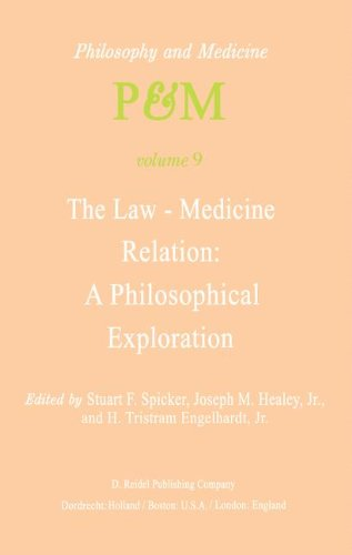 the-law-medicine-relation-a-philosophical-exploration-proceedings-of-the-eighth-trans-disciplinary-s