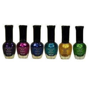 Kleancolor-Metallic-Nail-Lacquer-6-Colors-Set
