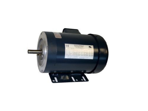 Ac Motor, 1Hp, 1725Rpm, 3Ph/60Hz, 208-230/460Vac, 56C/Tefc, With Foot, Sf 1.15, Insul F, Inverter Duty