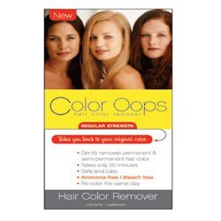 Color Oops Regular Strength Hair Color Remover, #RS100 - 1 Ea