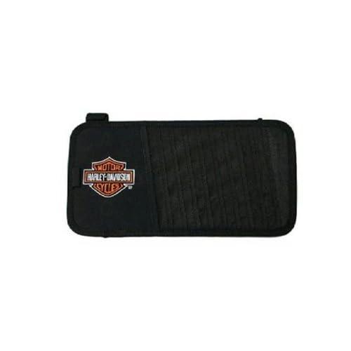 CD / DVD Visor Organizer   Harley Davidson Bar & Shield