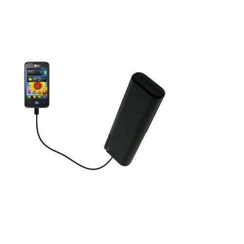 Caricabatterie AA di emergenza portatile compatibile con LG Univa con tecnologia TipExchange
