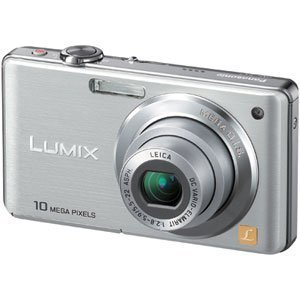 Panasonic デジタルカメラ LUMIX (ルミックス) FS7 シルバー DMC-FS7-S
