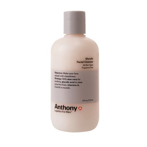 Anthony Logistics For Men Glycolic Facial Cleanser 8 oz
