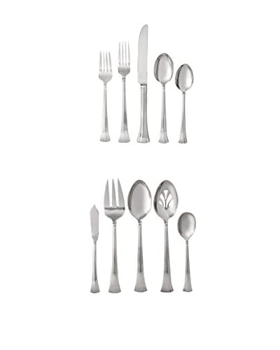 Waterford Mont Clare 65-Piece Flatware Set As You See