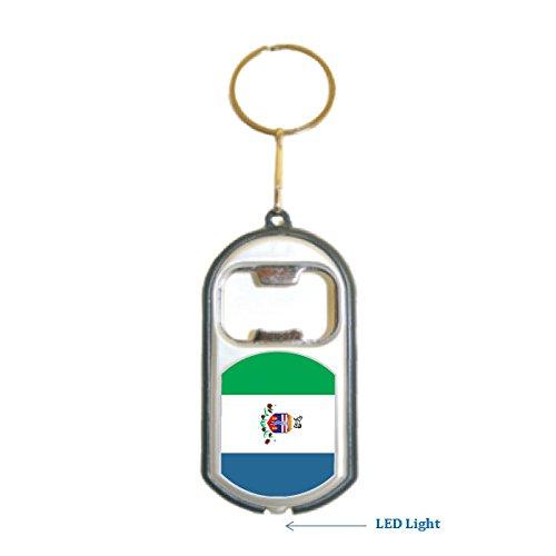 Yukon Flag 3 in 1 Bottle Opener LED Light KeyChain KeyRing Holder (Yukon Bottle Opener compare prices)