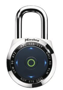 Master Lock Dialspeed Electronic Combination Padlock