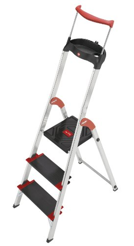 Hailo XXR 225 ChampionsLine 225 kg Capacity Aluminium Deluxe Comfort Steps (3 Steps)