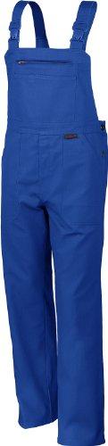 Qualitex Arbeits-Latzhose BW 270 - mehrere Farben 52,Kornblau
