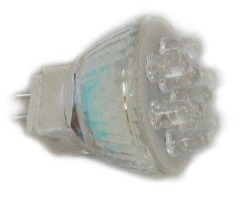 Led Light Bulb, Mr11 9Led 12V Red
