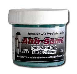 Ahh-Some Pool & Spa Filter Cleaner 2oz - 4+ Filter Cleanings, Reuse Filters