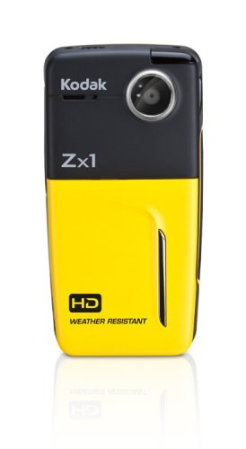 Kodak Zx1 720p Pocket HD Camcorder (Yellow)