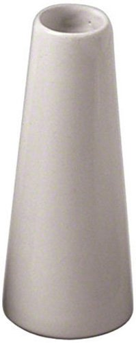 American Metalcraft BVTG6 Ceramic Tower Bud Vase, White