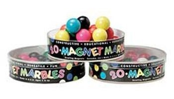 School Specialty Magnetic Marbles for Age 5 and Up - Set of 20