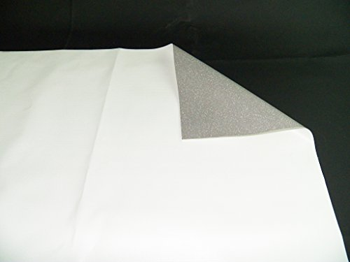 Vinyl Tarp 15 oz. 17 Mil Heavy Duty White Waterproof PVC (9′ x 30′)