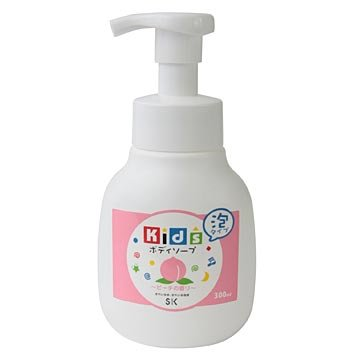 エスケー石鹸 キッズボディソープ ピーチの香り 本体300ml
