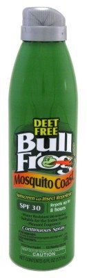 Bull Frog Spf#30 Mosquito Coast Sunblock/Insect Spray6oz