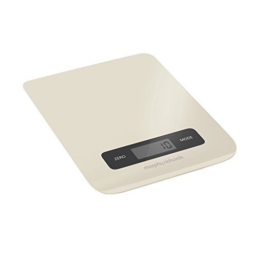 Electronic Kitchen Scale Cream
