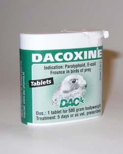 Cheap Dac Dacoxine tabs. For Pigeons, Birds & Poultry (B00836GJDK)