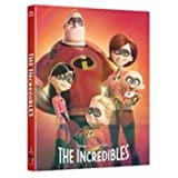THE INCREDIBLES (Blu-ray Steelbook) [KimchiDVD Exclusive LENTICULAR B2 SLIP BOX Region-Free; Kimchi]