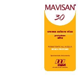 MAVISAN 30 CR VISO PR/ALT 60ML