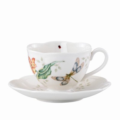 Butterfly Meadow Dragonfly Cup and Saucer