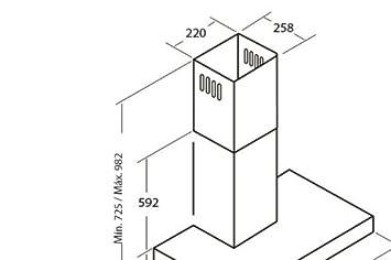 Cata S 600 Wand Dunstabzugshaube 60 Cm Breit Abzugshaube Umluft Esse