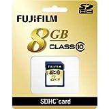 富士フィルム SDHCカード 8GB CLASS10 SDHC-008G-C10