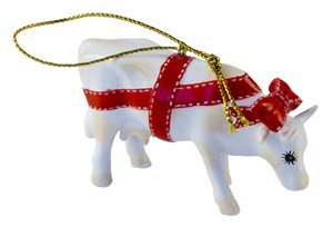 Present Cow Christmas (Ornament)