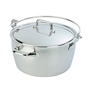 Demeyere Maslin Pan with Lid