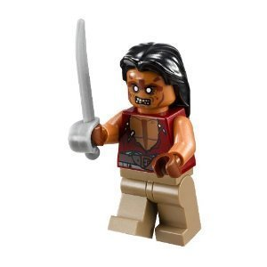 Lego Pirates of the Caribbean ~ Yeoman Zombie Minifigure - 1
