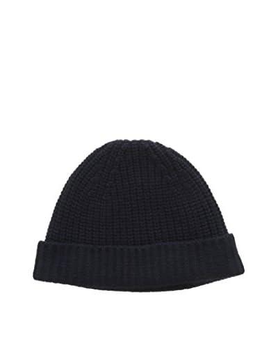 Cruciani Mütze 100% Kaschmir nachtblau