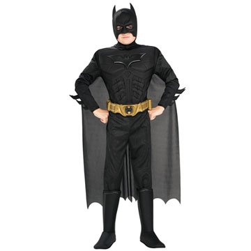 Deluxe Muscle Chest Batman Kids Costume
