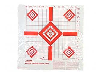 Champion Redfield Style Precision Sight-In Target (Pack of 100) 1 pair boxing training sticks target mma precision training sticks punching reaction target muay thai grappling jujitsu tools