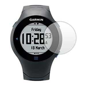 6 x Clear Screen Protectors for Garmin Forerunner 610 - Anti-Scratch LCD Guards / Display Savers