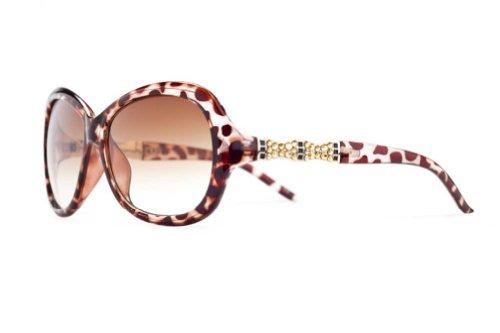 Jimmy Crystal New York Women's Park Ave Sunglasses Brown (Jimmy Crystal New York compare prices)