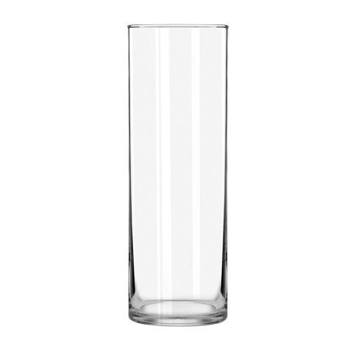 Libbey Cylinder Vase, 10-Inch, Clear, Set of 6