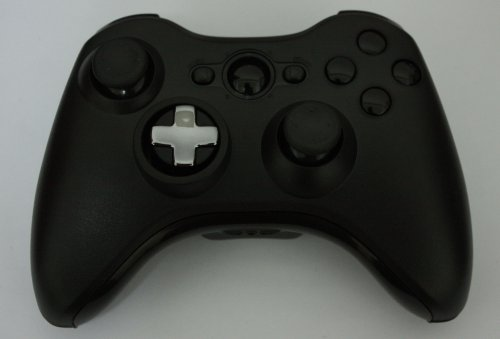 Xbox 360 New Transforming Controller Shell Kits,Xbox 360 Custom Black Controller Shell Parts With Roating D-Pad