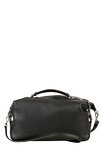 MICHAEL KORS Borsa Zoe LG Satchel Leather Nero Art 30S6SZCS3L 001-66 P16