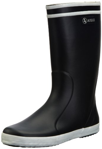 Aigle Junior Lolly Pop Wellies Marine/Blanc 84550/10 Child UK 10 Child UK