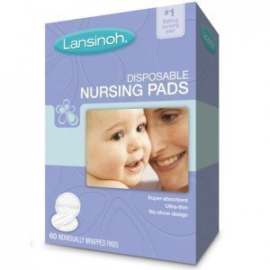 Big Save! Lansinoh Disposable Nursing Pads - 60 ct