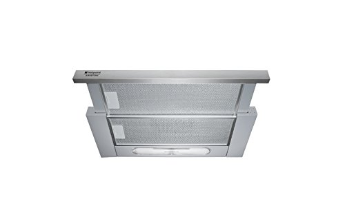 Hotpoint AH 61 CM X /HA - hottes (Built-under, Conduit, Acier inoxydable, boutons, Aluminium)
