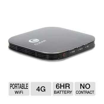 Set A Shopping Price Drop Alert For CLEAR Spot Voyager IFM-910CW 4G Wireless Hotspot