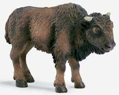 Picture of Schleich American Bison Calf Figure (B000H6H3BQ) (Schleich Action Figures)
