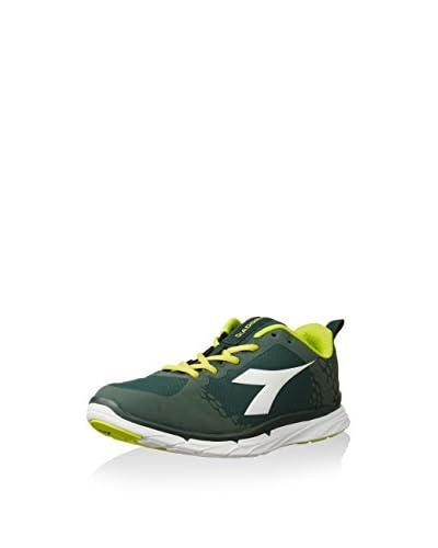 Diadora Nj-303-1 Rs - Zapatillas de running de tela para hombre Verde Verde Fucile/Bianco 45